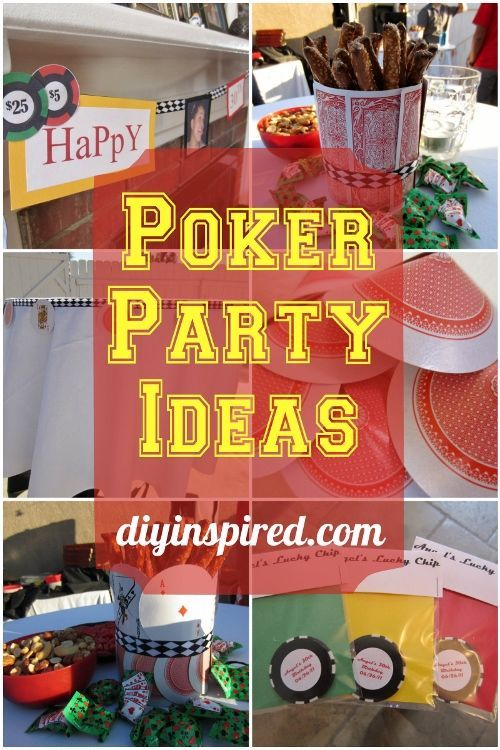 Best 78 Best Images About Casino Party Ideas On Pinterest This Month