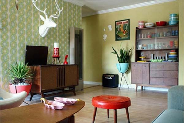 Best 1000 Ideas About Retro Living Rooms On Pinterest Aqua This Month