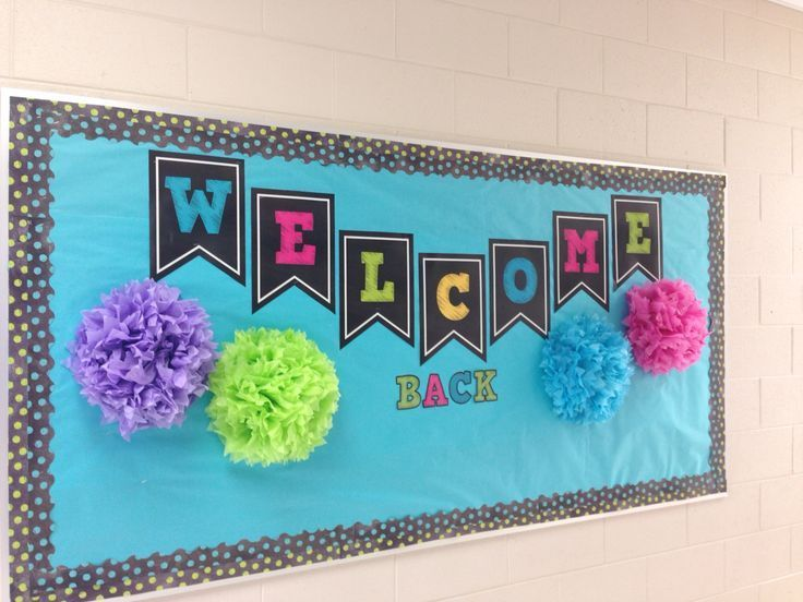 Best Welcome Back Bulletin Board Classroom Decoration This Month