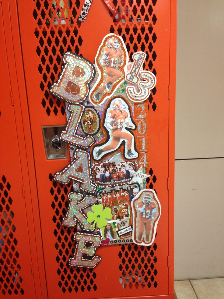 Best Locker Decoration Made By Bailey Ahs Cheer Pinterest This Month