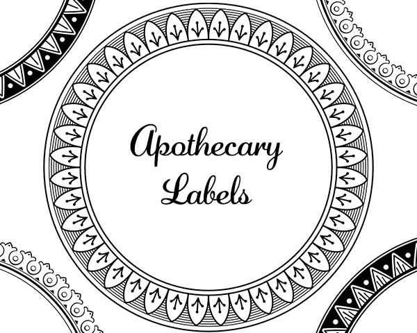 Best 84 Best Images About Free Herbal Labels On Pinterest This Month