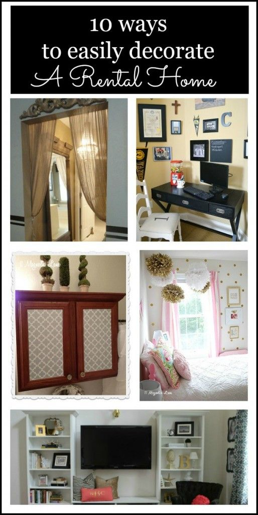Best 10 Easy Ways To Decorate And Personalize A Rental Home Or This Month