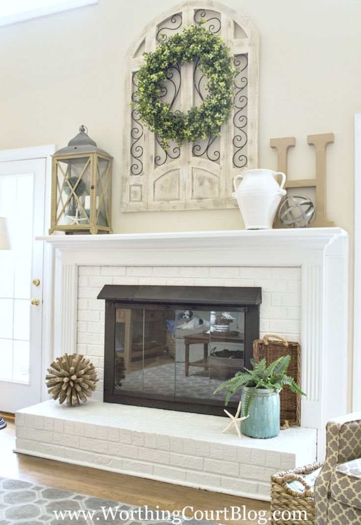 Best 25 Best Ideas About Fireplace Mantel Decorations On This Month