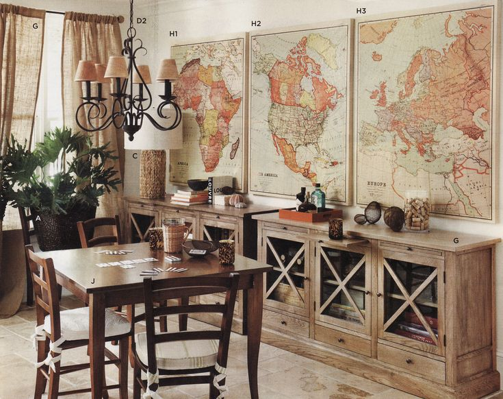 Best Vintage Map Decor Def Doing This And Marking All The This Month