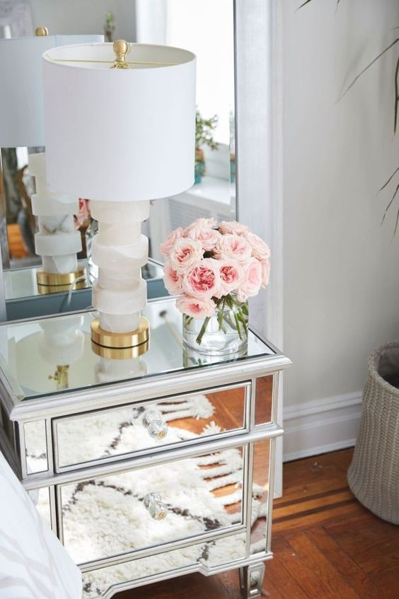 Best 17 Best Ideas About Bedside Table Decor On Pinterest This Month
