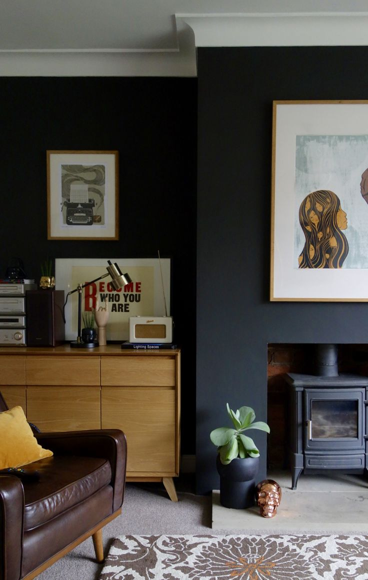 Best 25 Best Ideas About Black Living Rooms On Pinterest This Month