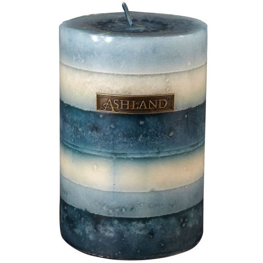 Best Seaside Layered Pillar Candle By Ashland® Decor Scents This Month