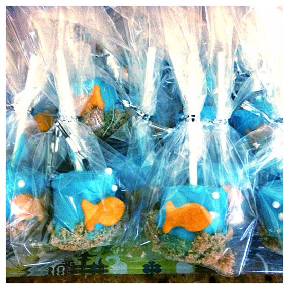 Best 24 Ocean Underwater Sea Life Marshmallow Pops Party Favor This Month