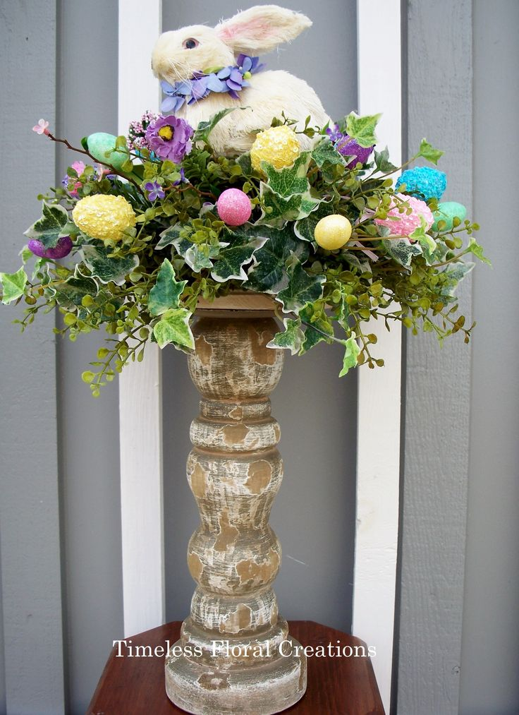Best Easter Bunny Arrangement Easter Decorations Http Www This Month