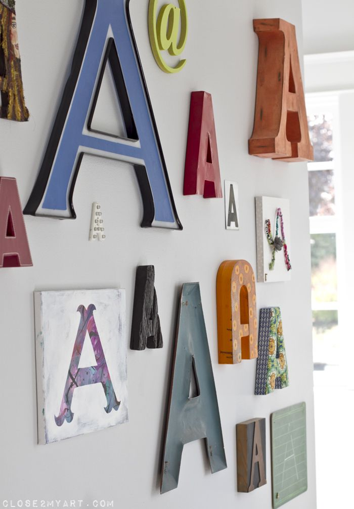 Best 17 Best Ideas About Monogram Wall Letters On Pinterest This Month