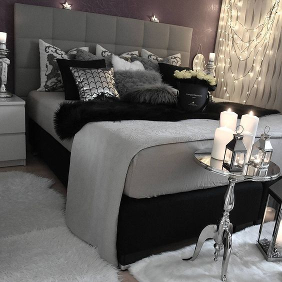 Best 25 Black Bedrooms Ideas On Pinterest This Month