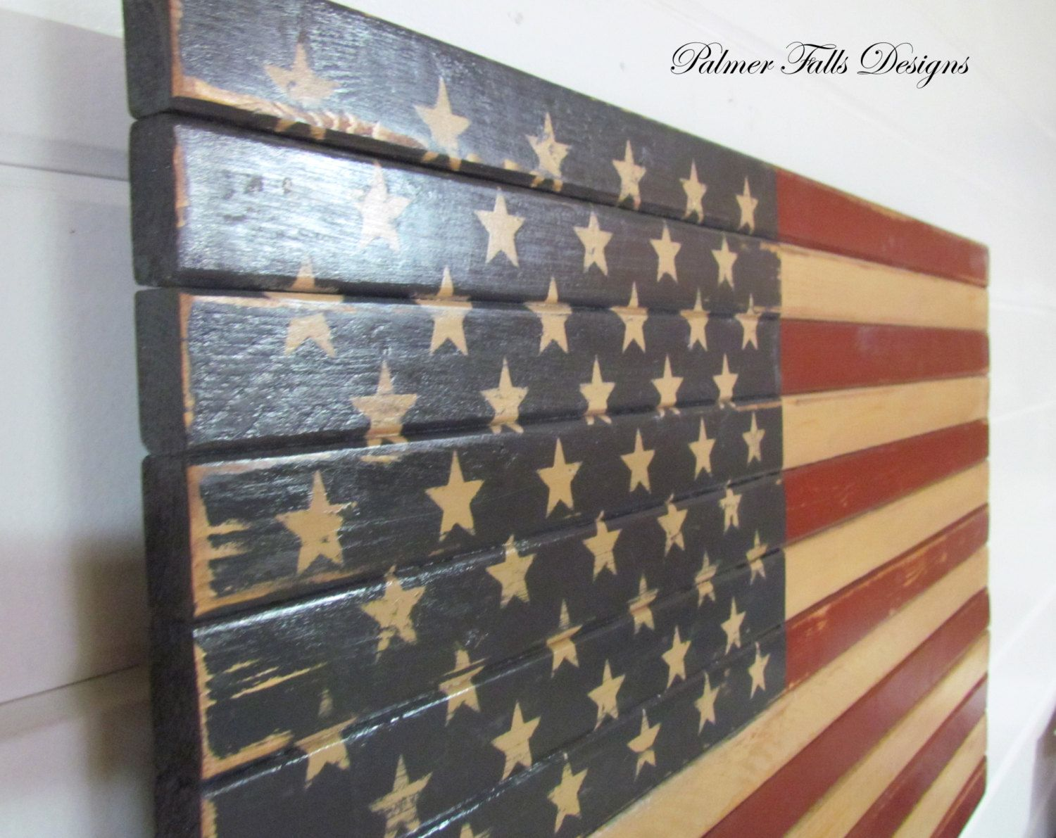 Best Traditional Wood American Flag Patriotic By This Month