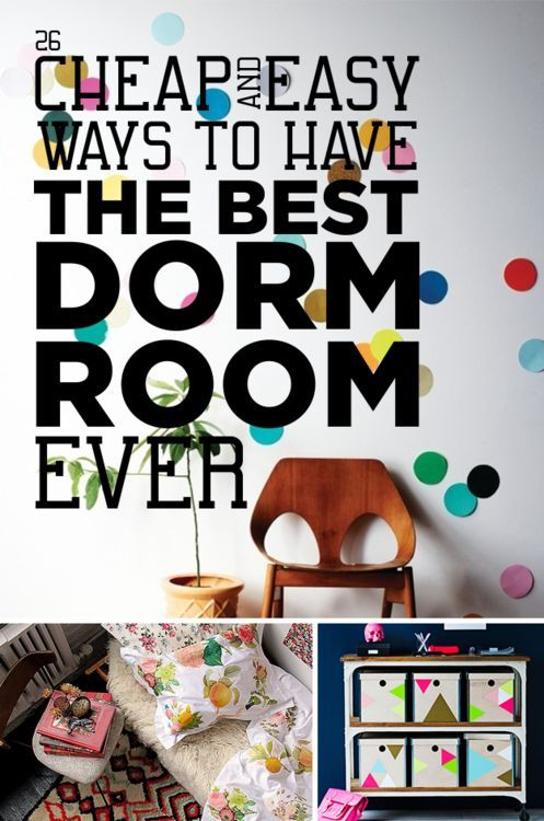 Best 26 Cheap And Easy Ways To Have The Best Dorm Room Ever This Month