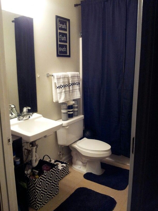 Best My College Apartment Bathroom Black And White With Grey This Month