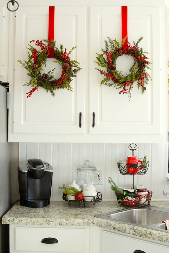 Best Christmas In The Kitchen So Many Cute Decorating Ideas This Month