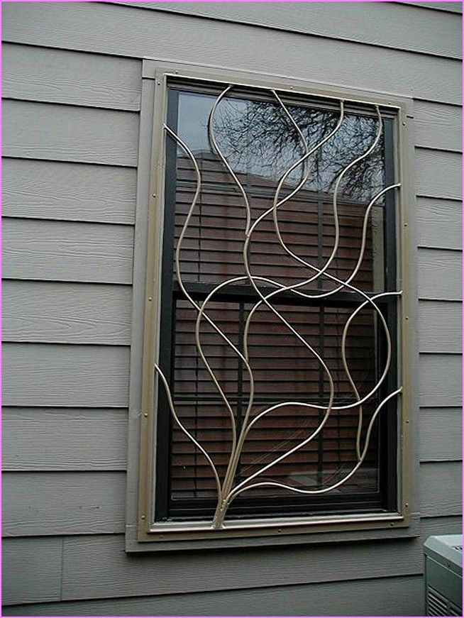 Best Decorative Window Security Bars Lowes Design Inspiration This Month