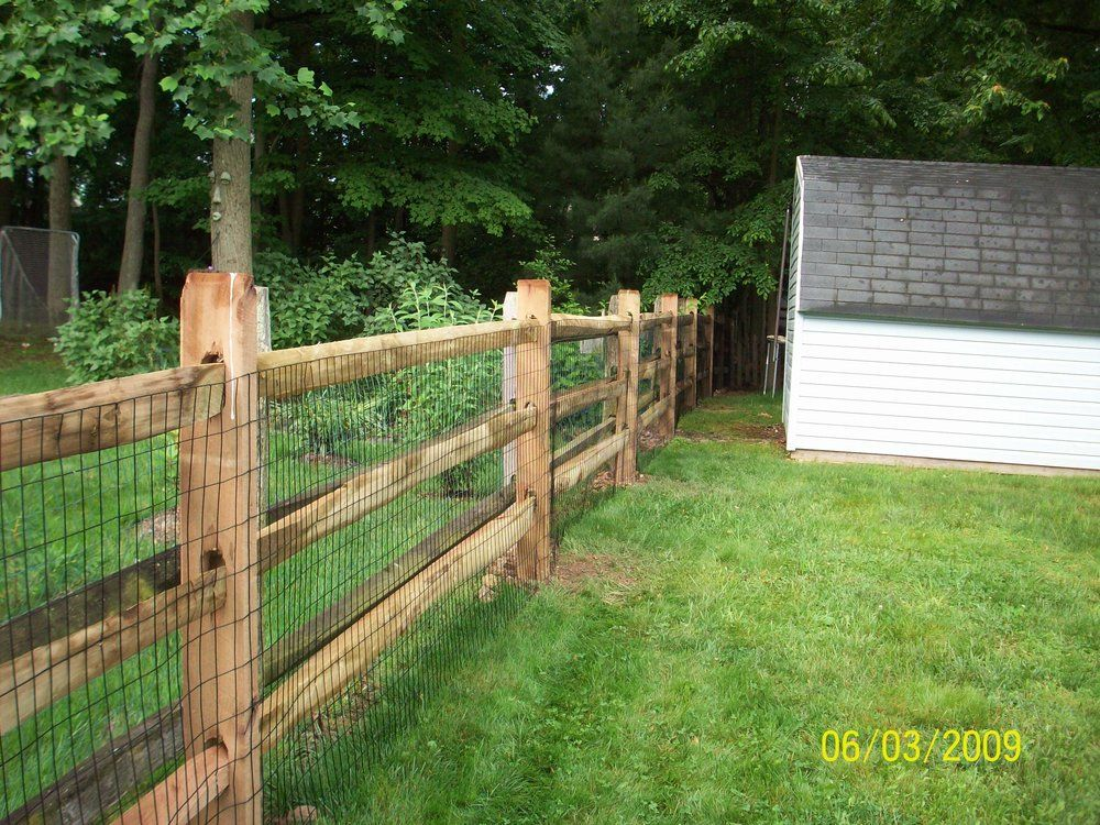 Best 3 Rail Split Rail Fencing Decorative With Wire Fence To This Month