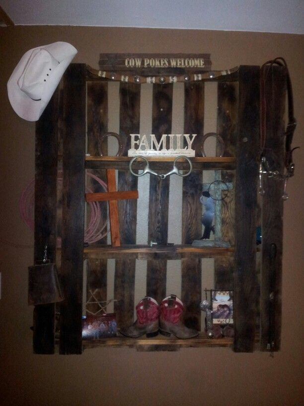 Best Diy Pallet Western Wall Decor Ashley Walters Walters This Month