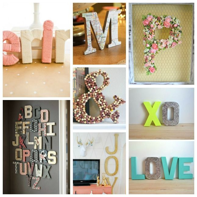 Best 14 Ways To Decorate Cardboard Letters Beautiful This Month