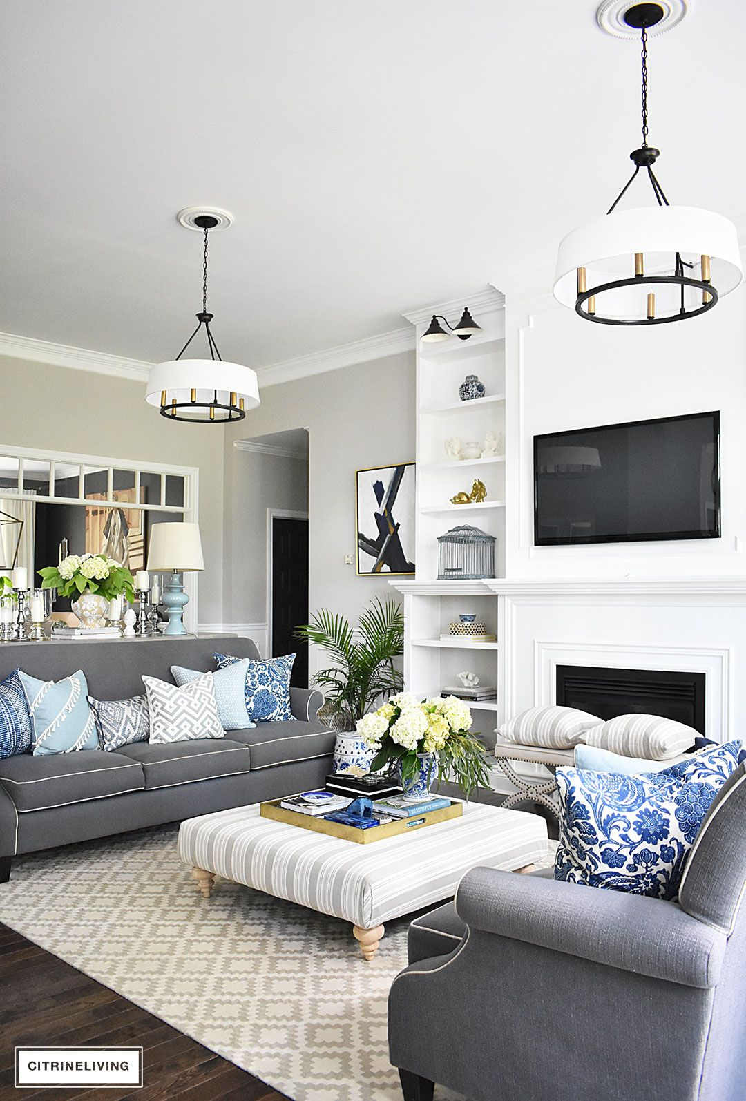 Best 20 Fresh Ideas For Decorating With Blue And White This Month