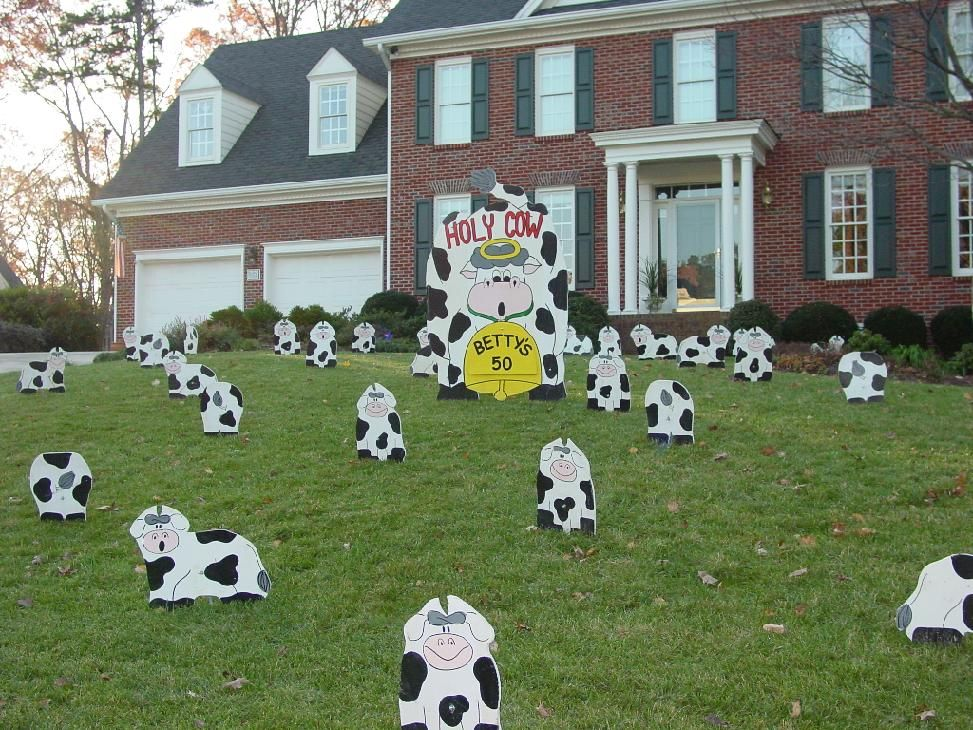 Best Cow Decor Holy Cow Sally S 40 Cows Announcement This Month