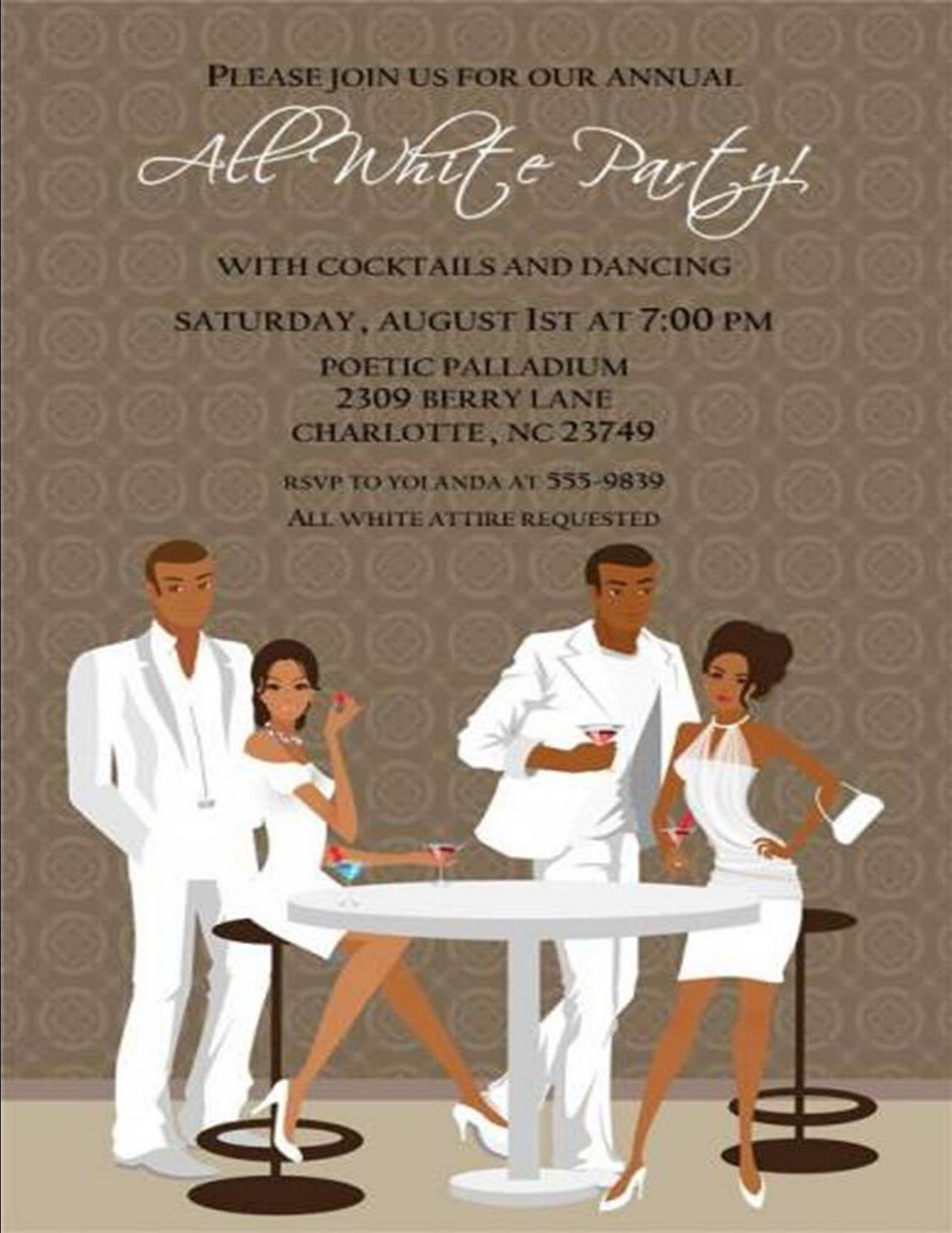 Best All White Party On Pinterest White Parties White Party This Month