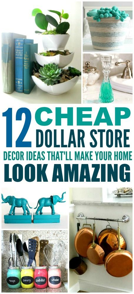 Best 12 Cheap And Easy Dollar Store Decor Hacks That Ll Make This Month