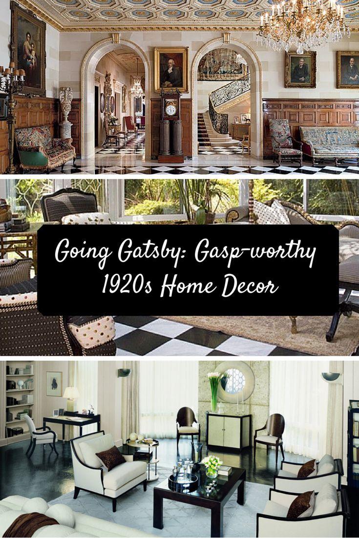 Best Going Gatsby Gasp Worthy 1920S Home Decor Fashion Check This Month