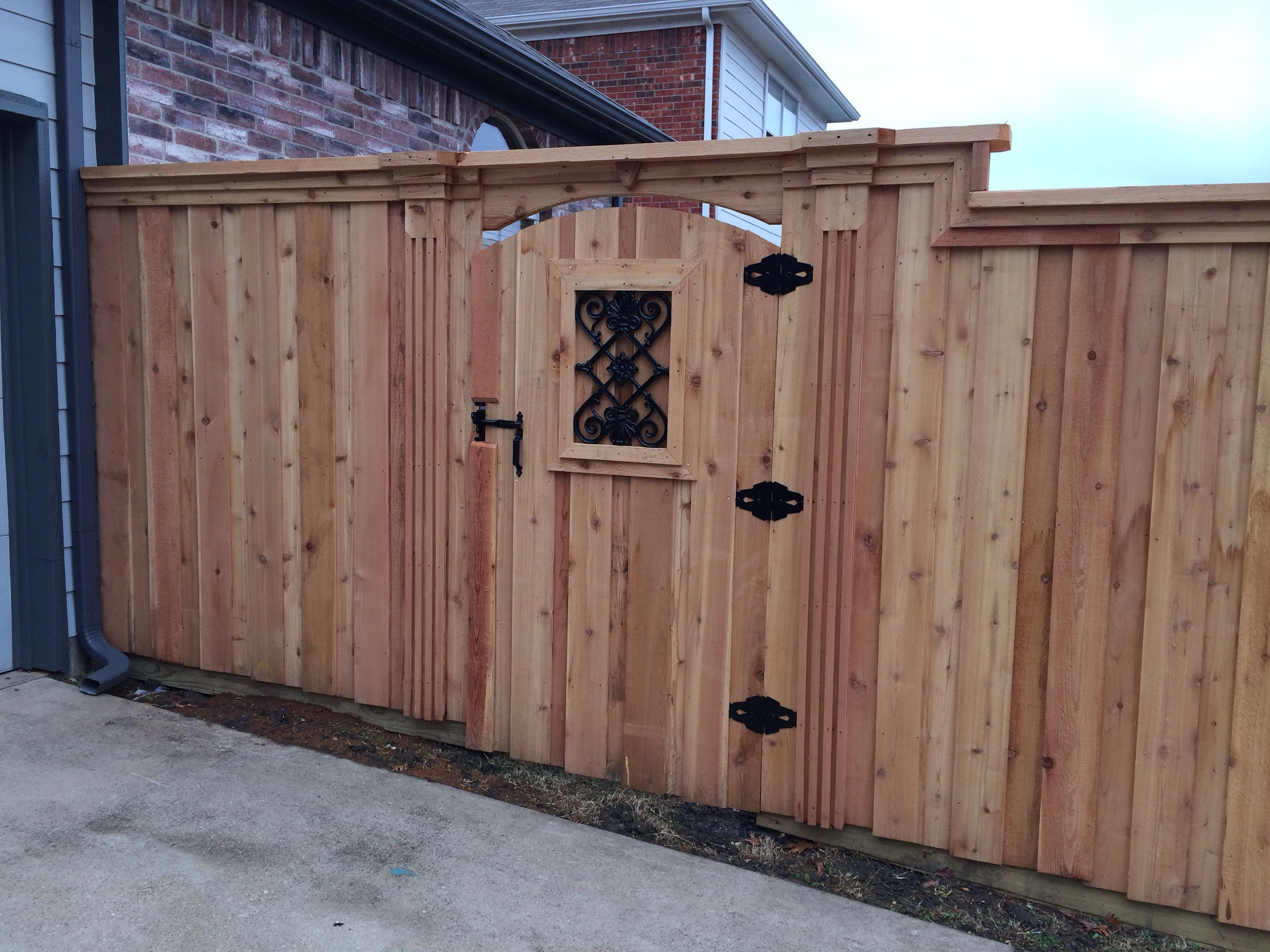 Best Decorative Cedar Gate Fences Pinterest Cedar Gate This Month