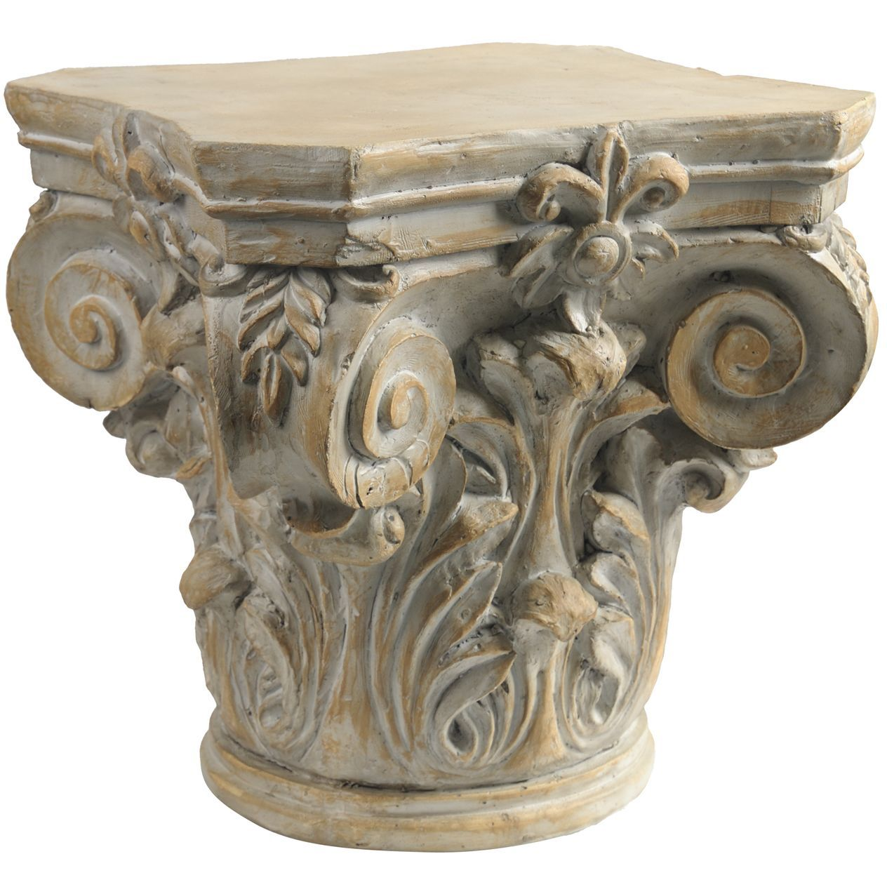 Best Beige Ceramic Roman Column Decorative Pedestal Roman This Month