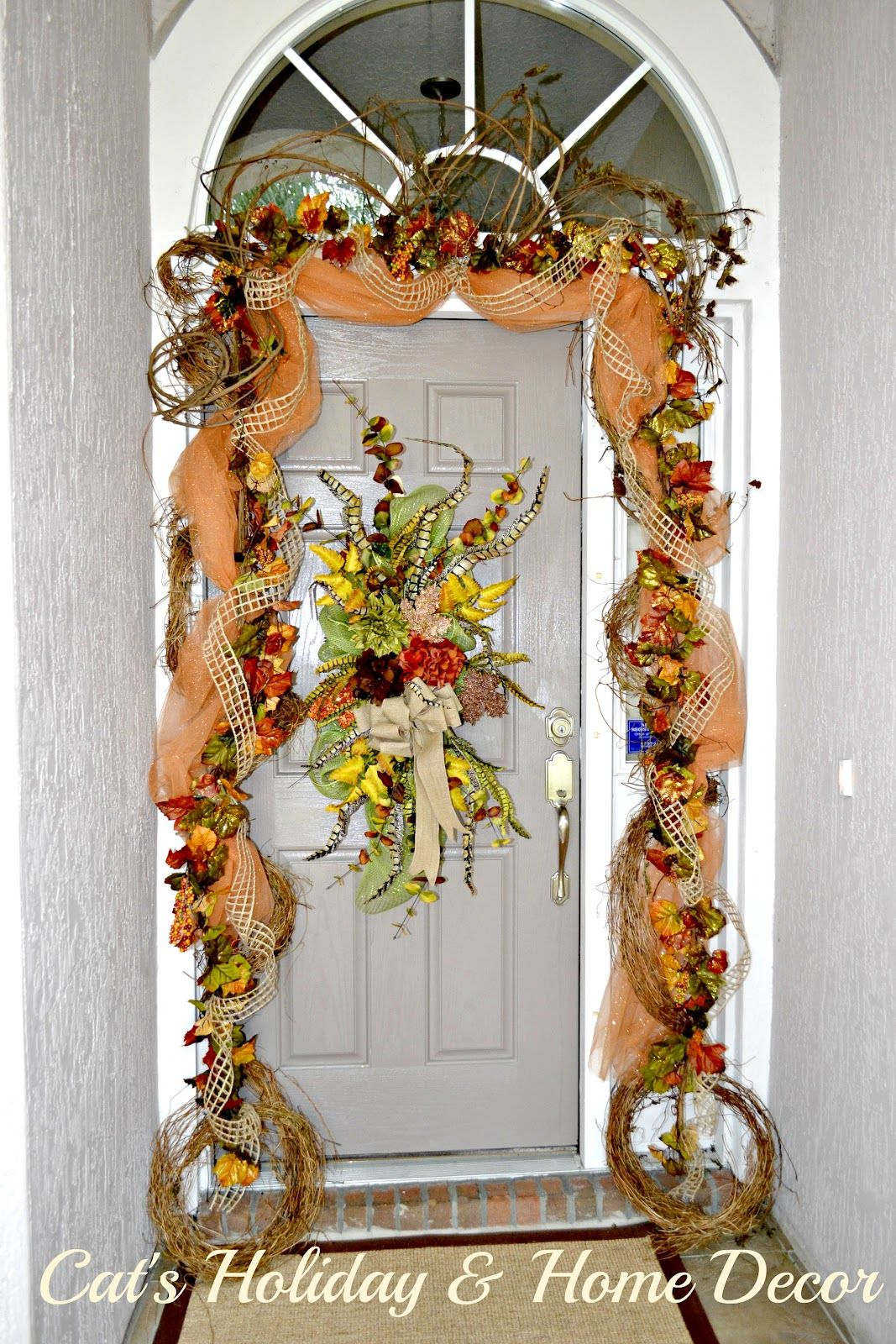 Best Decorating With Grapevine Garland Cat S Holiday Home This Month