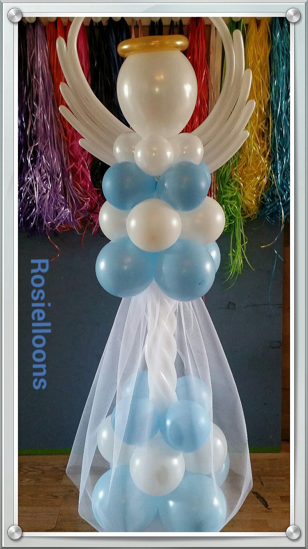 Best Rosielloons Angel Balloons Pinterest Communion This Month
