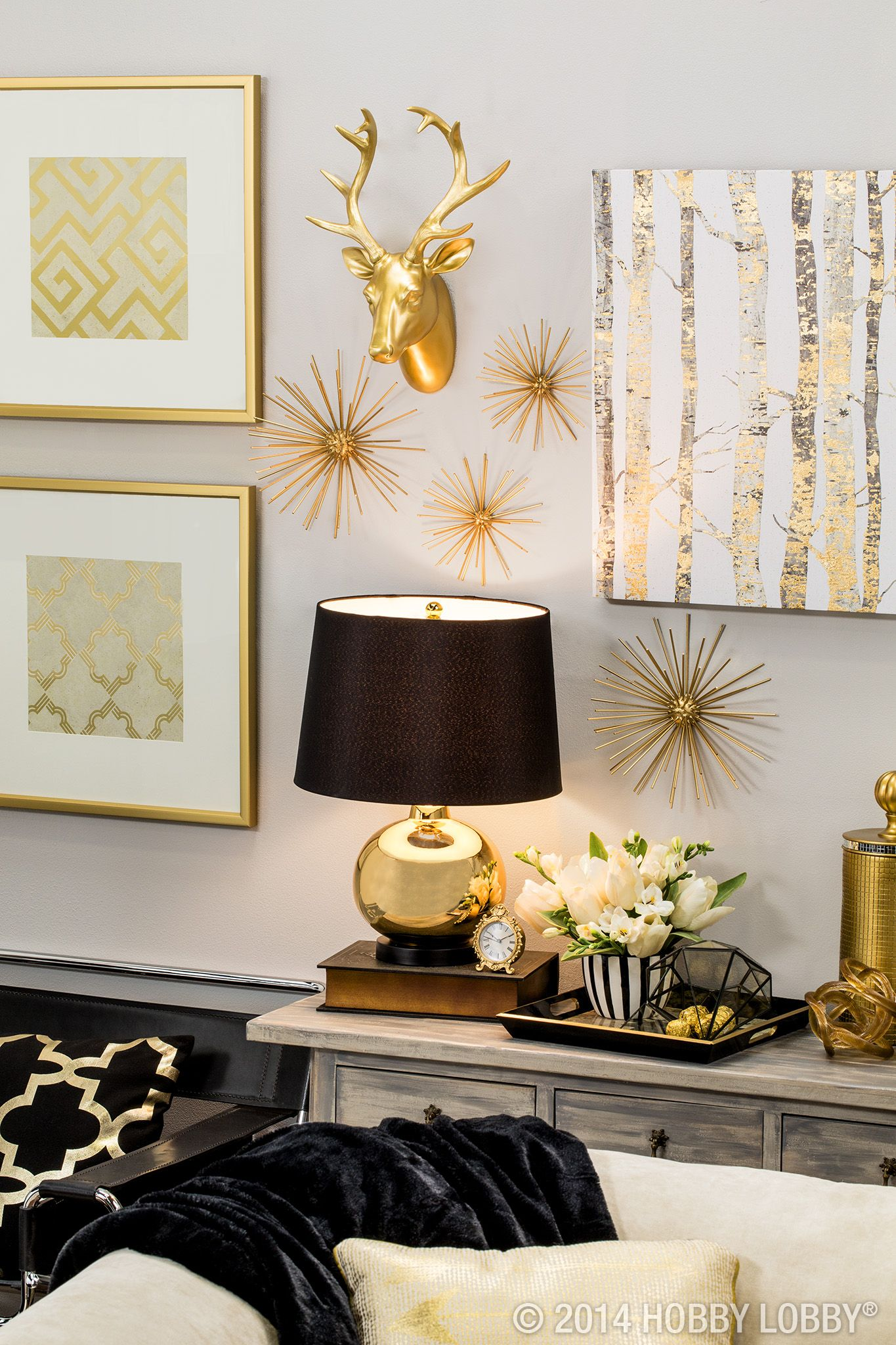 Best Black And Gold The Perfect Modern Pieces To Bring Your This Month