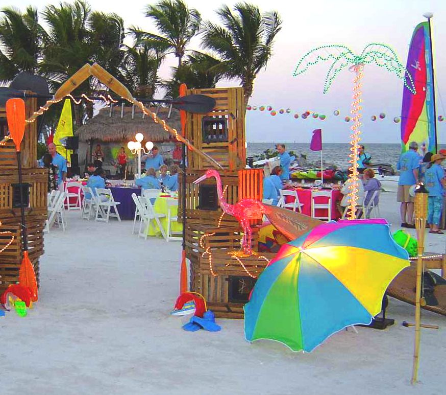 Best Beach Party Decorations Beach Party Pinterest Luau This Month