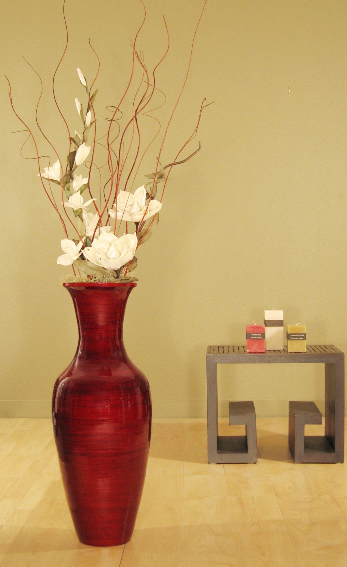 Best Accent Your Home Decor With This Bamboo Floor Vase And This Month