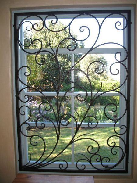Best Beautiful Wrought Iron Burglar Guard To Compliment Your This Month