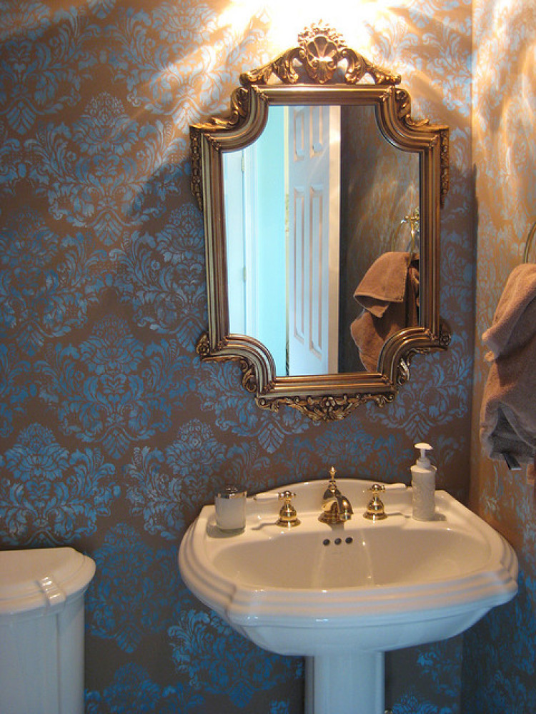 Best Powder Room Decorating Ideas Photos Huffpost This Month