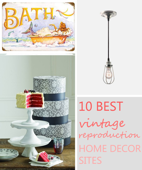 Best The 10 Best Vintage Reproduction Home Decor Sites Craftfoxes This Month