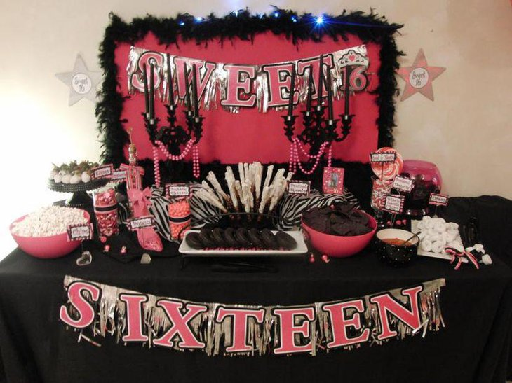 Best 37 Sweet 16 Birthday Party Ideas Table Decorating Ideas This Month