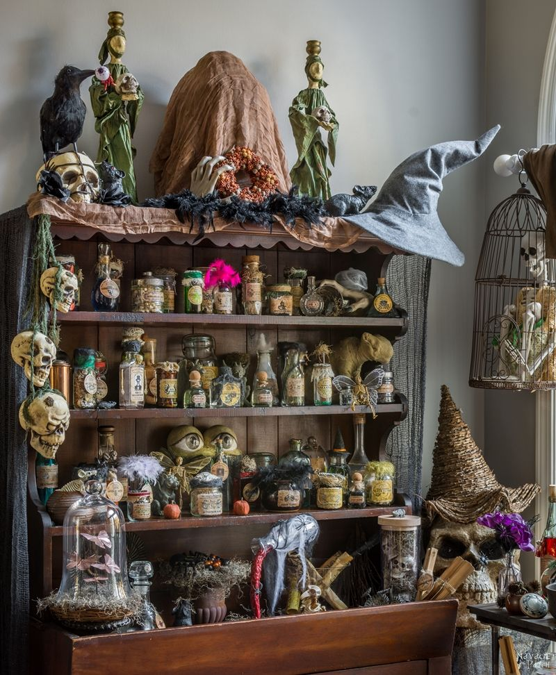 Best Halloween Apothecary Jars And Free Printable Labels This Month