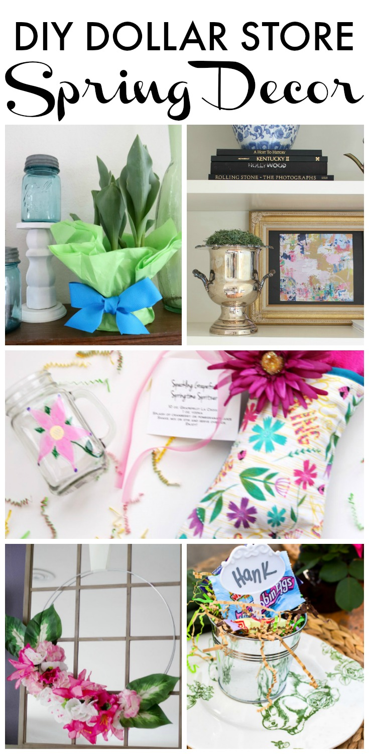 Best Dollar Store Easter Decor Hunt And Host This Month