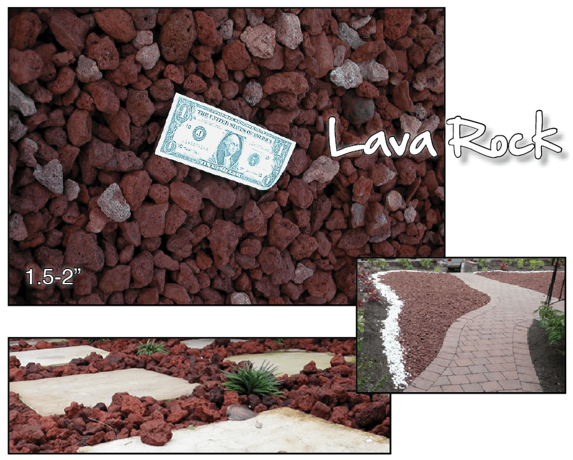 Best Brentwood Material Lava Rock This Month