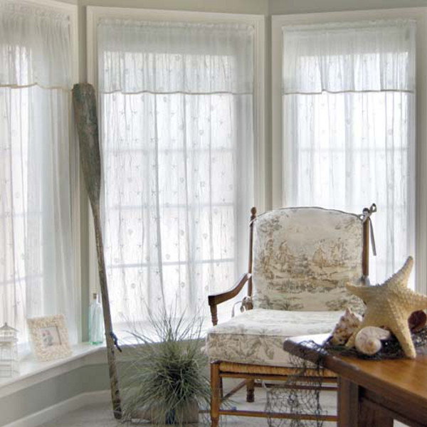 Best Sand Shell Valances And Panels This Month