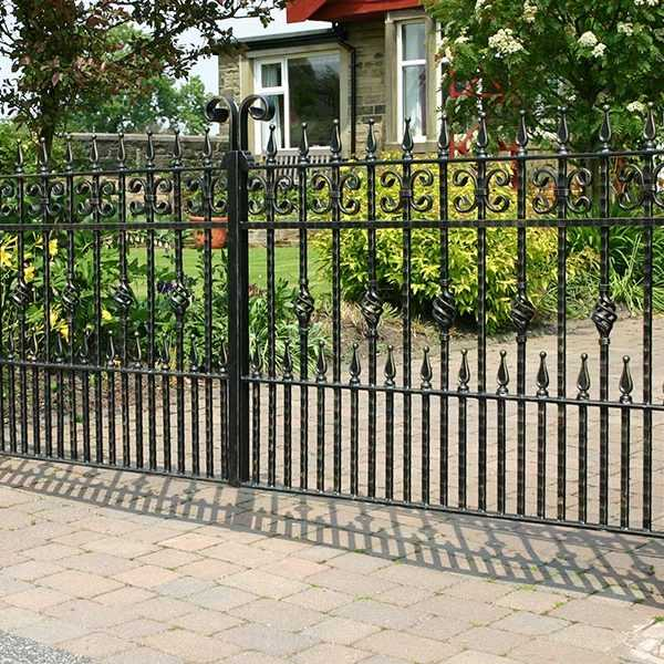 Best Iron Products Cutomized Luxury Wrought Iron Gate Wrought This Month