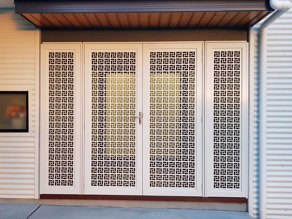 Best Laser Cut Decorative Security Screens For Doors And Windows This Month