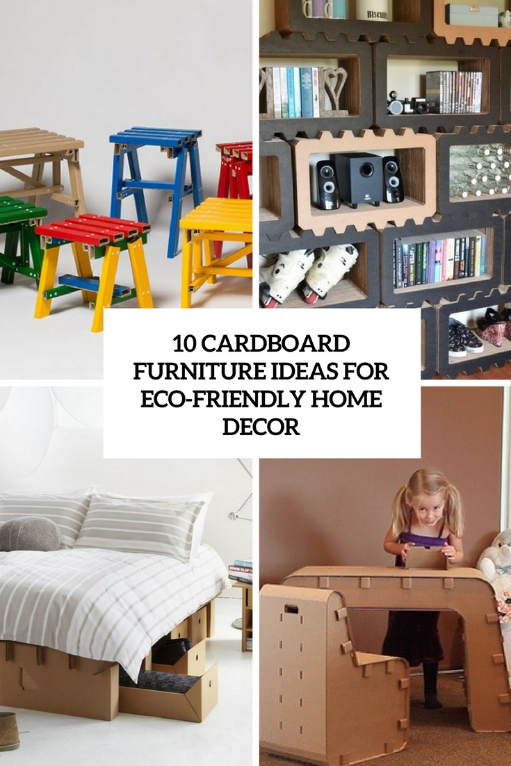 Best 10 Cardboard Furniture Ideas For Eco Friendly Décor Digsdigs This Month