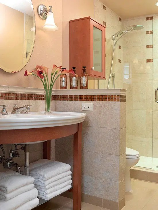 Best 54 Cool And Stylish Small Bathroom Design Ideas Digsdigs This Month