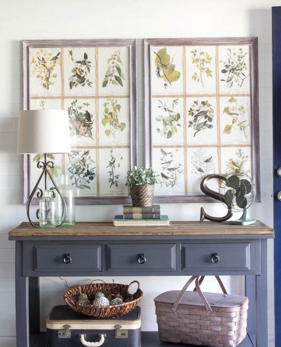 Best 52 Cozy And Simple Farmhouse Entryway Décor Ideas Digsdigs This Month