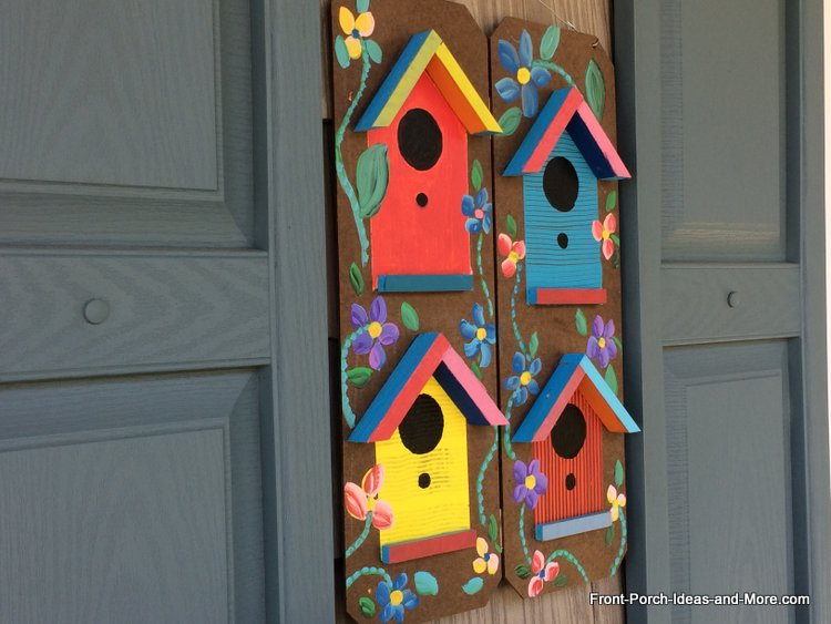 Best Spring Porch Decorating Ideas Birdhouses This Month