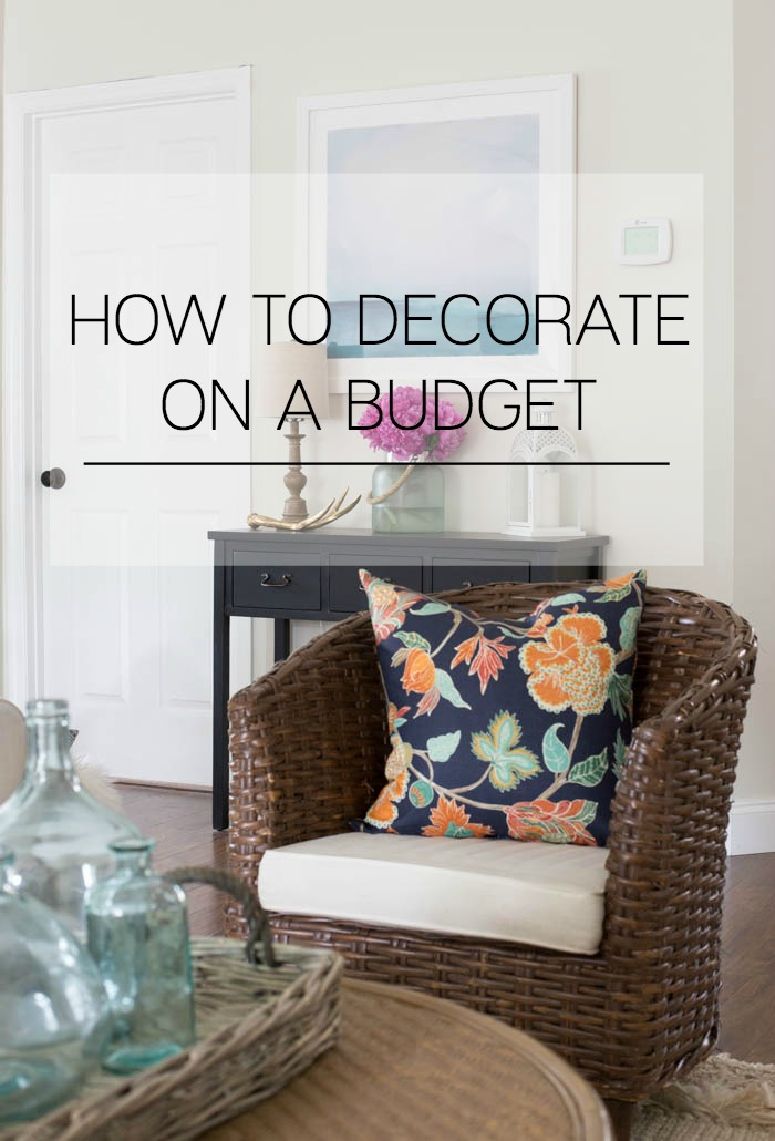 Best Decorating On A Budget Making Home Base This Month